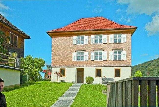 Das Kaplanhaus in Hittisau