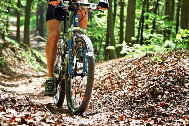 Mountainbike-Unfall in Bizau