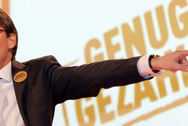 BZÖ-Chef Bucher lässt offen, ob die Partei bei den Landtagswahlen in Vorarlberg antritt. Zunächst sei eine Nationalratswahl zu schlagen.