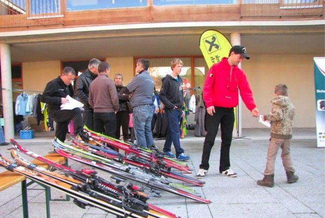 Am 10. November findet wieder der beliebte Sportartikeltausch beim Haus Nofels statt