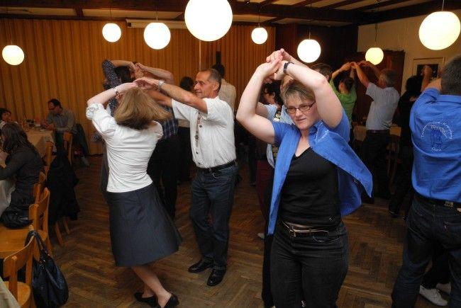 """Viel Spaß und Unterhaltung bietet die Veranstaltung """"Volkstanz im Gasthus"""" der Trachtengruppe Feldkirch"""