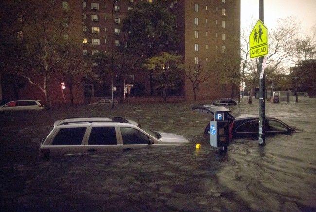 """Dutzende Menschen starben im US-Wirbelsturm """"Sandy""""."""