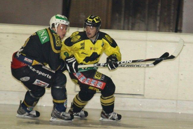 Ice Tigers Dornbirn gewann das erste Meisterschaftsspiel, Göfis und Walter Buaba spielten Remis.