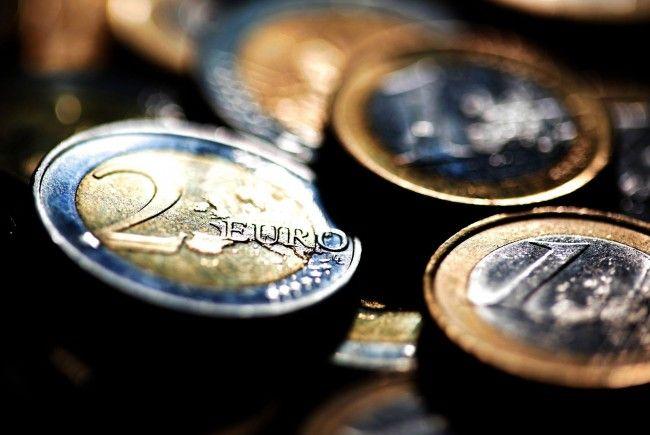 Euro notiert wieder mit Abschlägen.