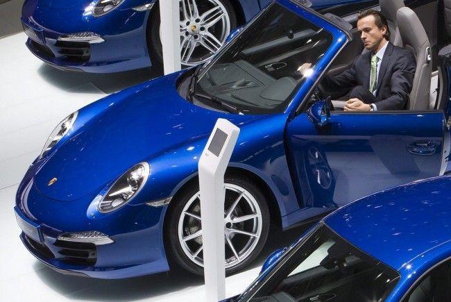Die Porsche-Modelle auf der Pariser Motor Show.