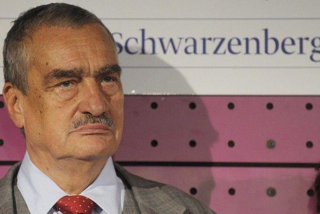 """Karl Schwarzenberg: """"Österreich kann nicht so kleinmütig sein"""""""