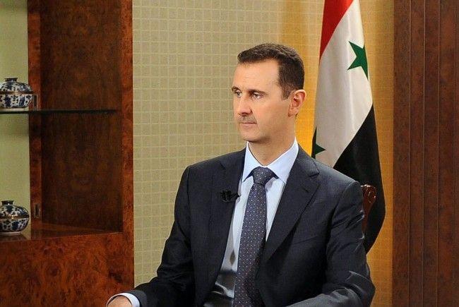 Der Syrische Diktator Assad.
