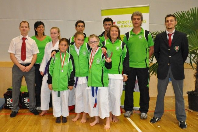 Ausgezeichnete Leistungen des Shotokan Karate-Club Feldkirch bei den Nachwuchs-Landesmeisterschaften!