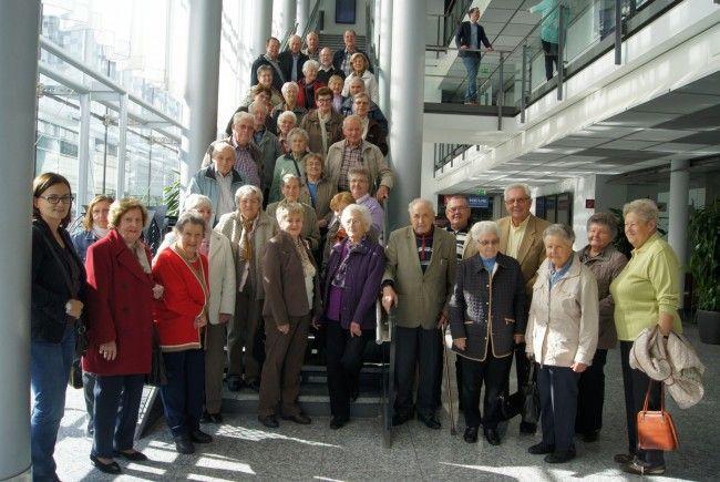 Seniorengruppe aus Mauren zu Besuch im VMH