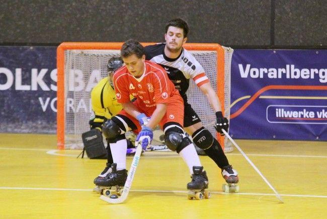 RHC Wolfurt-Legionär Alonso feierte einen 6:4-Auswärtssieg in Bern und steht im Achtelfinale.