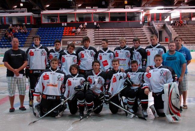 Das U17 Team auf  Platz 1 der Ostschweizer Meisterschaft