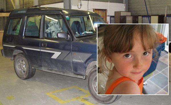 April (5) vermisst: Das Auto des festgenommenen Verdächtigen passt zu Augenzeugenberichten.