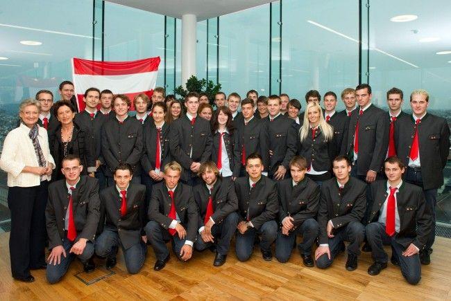 Das Team Austria, EuroSkills 2012.