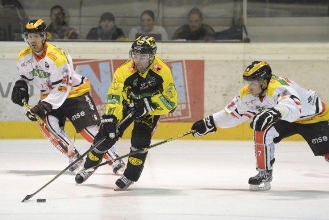 EHC Lustenau holte in Slowenien drei wichtige Punkte.