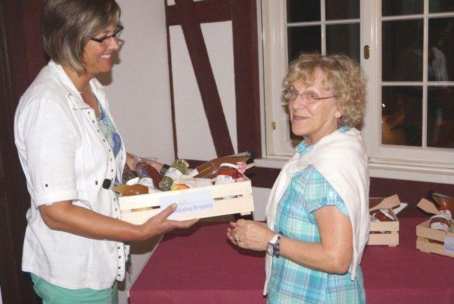 Die erfolgreichsten Teilnehmerinnen und Teilnehmer erhielten einen Geschenkskorb