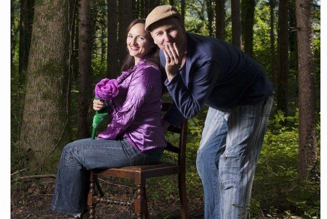 Das Duo Aja und Toni Eberle begeisterte am vergangenen Wochenende im Theater am Saumarkt.