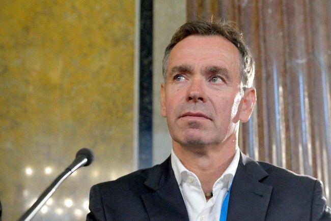 Der als Zeuge geladene Mathias Reichhold im Rahmen einer Sitzung des Parlamentarischen Korruptions-U-Ausschusses am Dienstag in Wien.