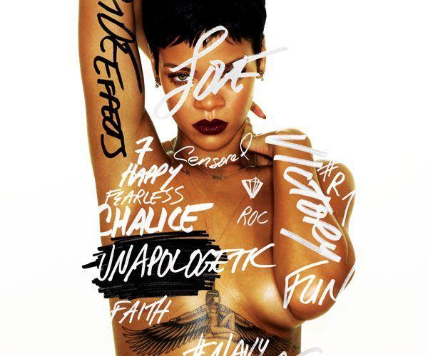 """Rihanna """"entschuldigt nichts"""" auf ihrem neuen Album """"Unapologetic""""."""