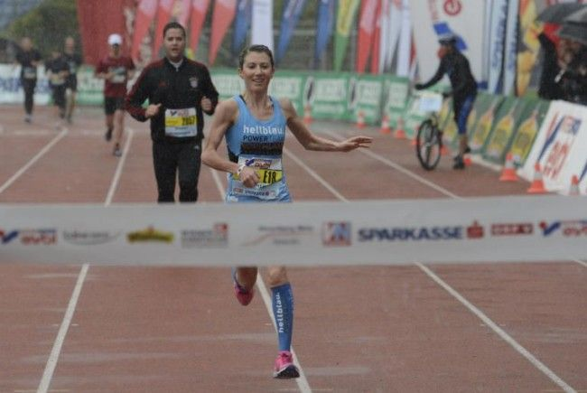 Von Erfolg zu Erfolg eilt Laufwunder Sabine Reiner und zwei Rennen will sie heuer noch gewinnen.