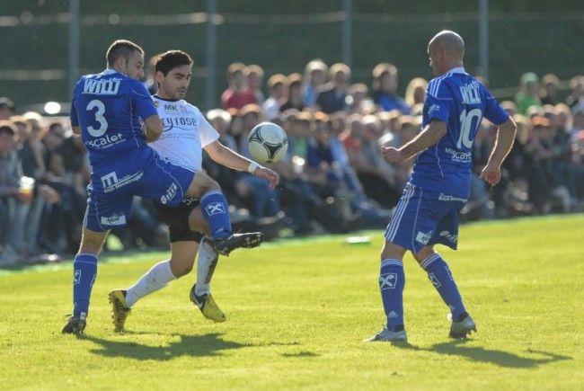 Lokman Topduman erzielte in der Schlussminute das 2:0 für Bregenz