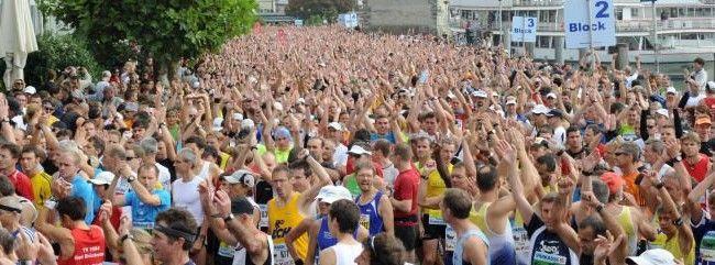 10.000 Teilnehmer, davon 3000 Kids sind bei der 6. Auflage des Sparkasse Marathon am Start.