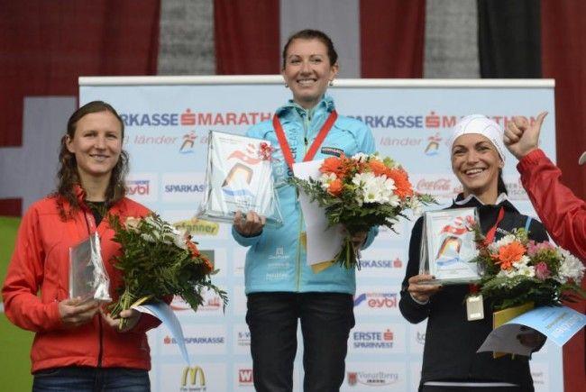 Die beiden Ländle-Laufasse Sabine Reiner und Sandra Urach waren beim HM eine Klasse für sich.