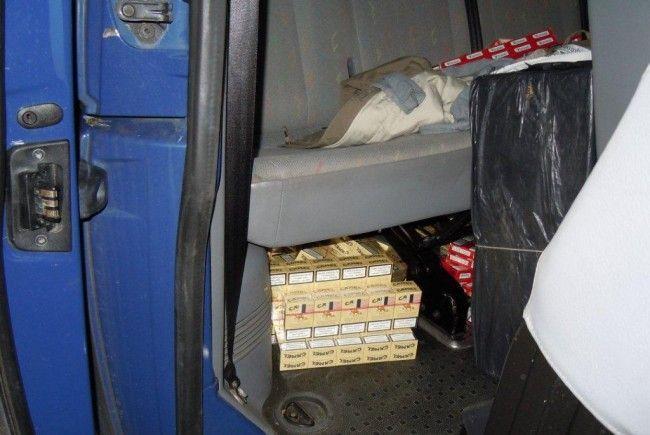 Über 200.000 Zigaretten sichergestellt