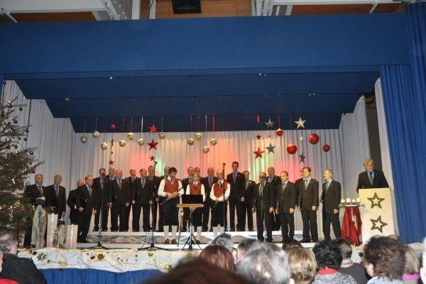 Ein Konzerterlebnis der besonderen Art erlebten die vielen Zuhörer im Frödischsaal.