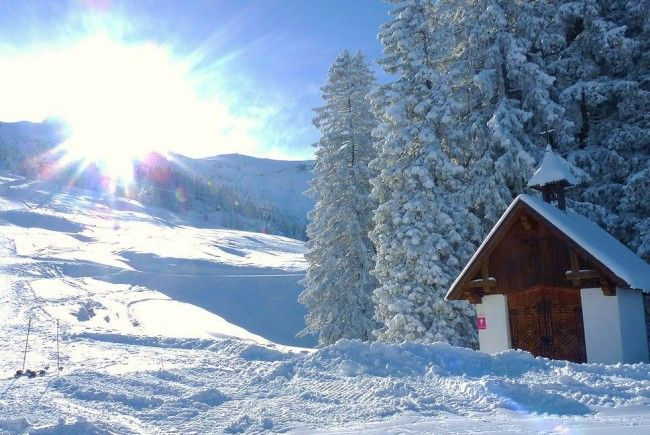 Winterwunderland Vorarlberg.