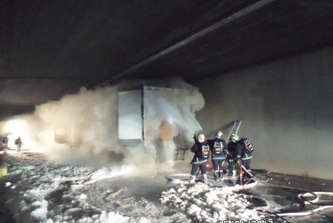 Arlbergtunnel war bis Mittwochvormittag gesperrt