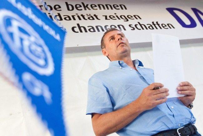 Insolvenzgerüchte rund um den FC Lustenau wollte Sperger (im Bild) nicht näher kommentieren