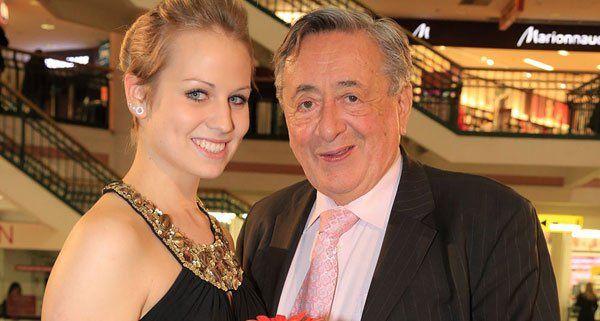 Richard Lugner mit seiner Opernballprinzessin.