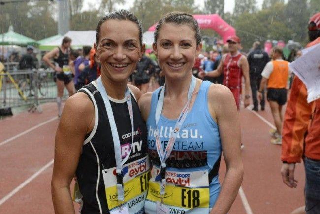 Natürlich sind die beiden Laufwunder Sabine Reiner und Sandra Urach auch heuer wieder am Start.
