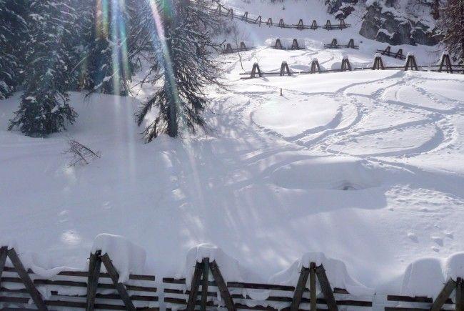 Skifahrer prallte gegen Baum