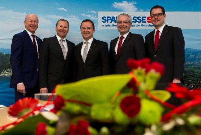Bilanzkonferenz der Vorarlberger Sparkassen: Betriebsergebnis brach um über 39 Prozent.