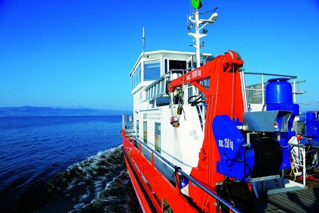 """Interreg IV-Projekt """"Tiefenschärfe"""" geht dem Bodensee auf den Grund."""