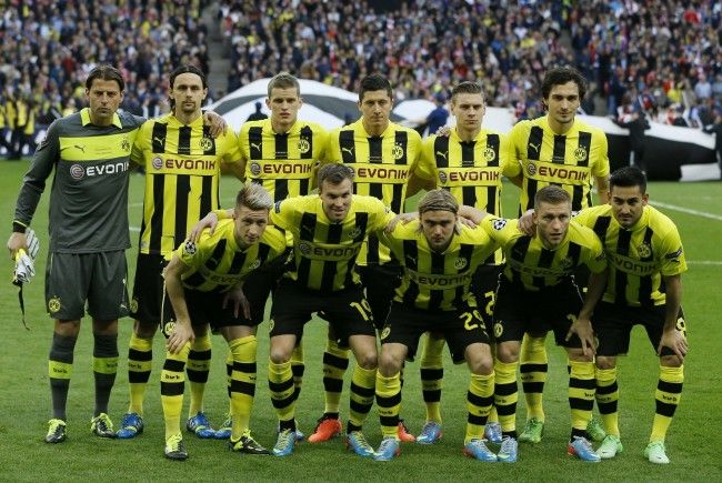 CL-Finalist Borussia Dortmund wird in Altach zu bewundern sein.