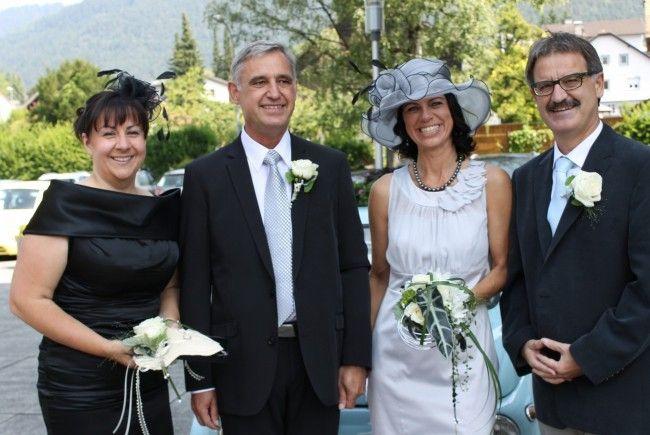 Hochzeit Von Jutta Wellinger Und Andreas Gunz Bludenz