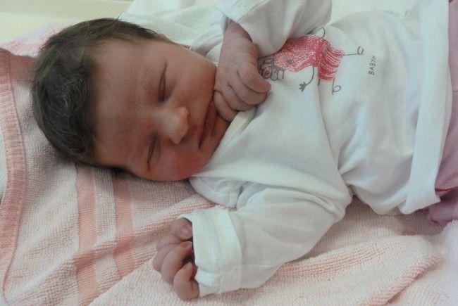 Geburt von Lina Marie Wastl am 9. Juli 2013