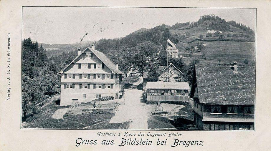 Gruß aus Bildstein aus dem Jahr 1915, eingesendet von Andrea Schönherr.