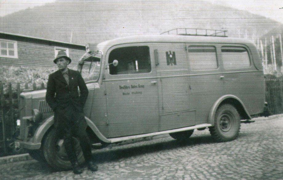 Ein Stück Zeitgeschichte: Rettungsfahrer in Bludenz (1945)