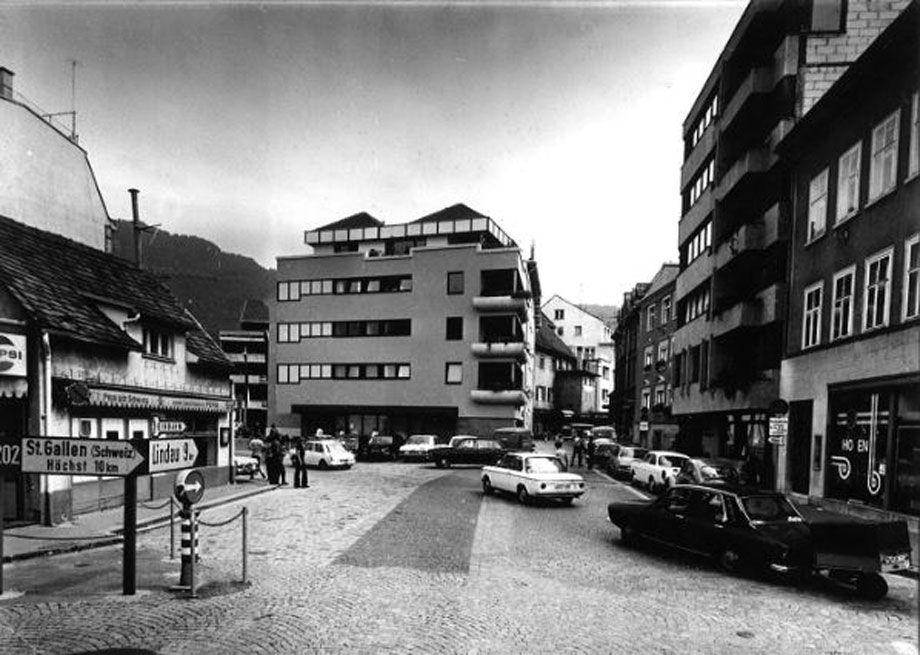 Bregenz in vergangenen Tagen.