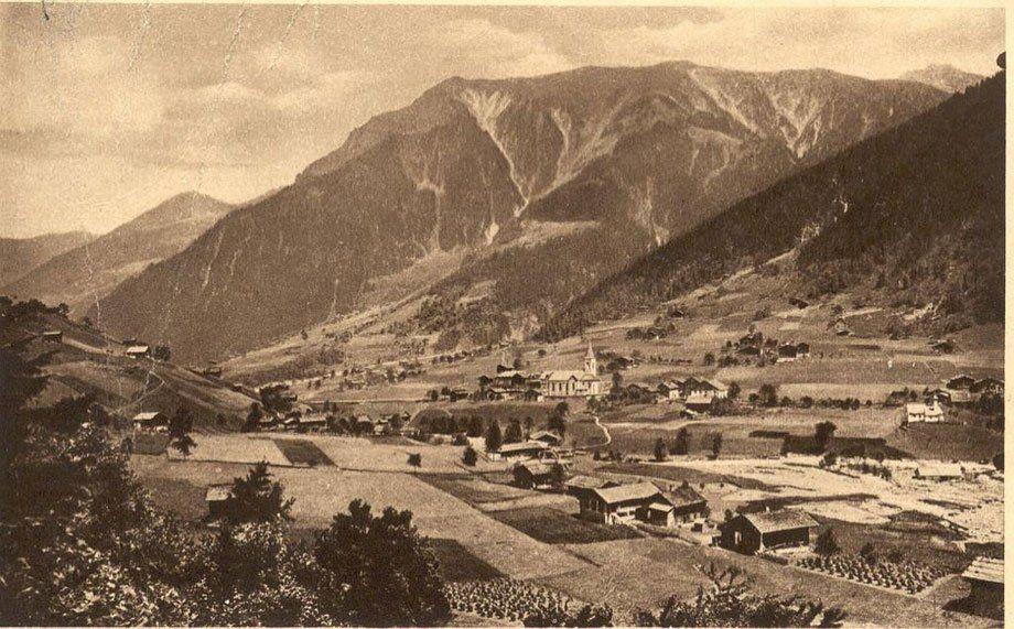 Gaschurn um 1900, eingesendet von Paul Rudigier.