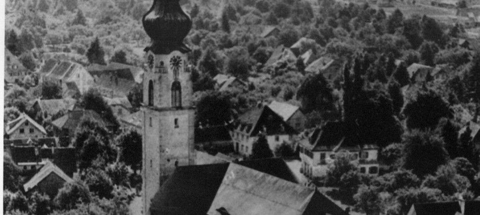 Bild aus dem Höchster Gemeindebuch.