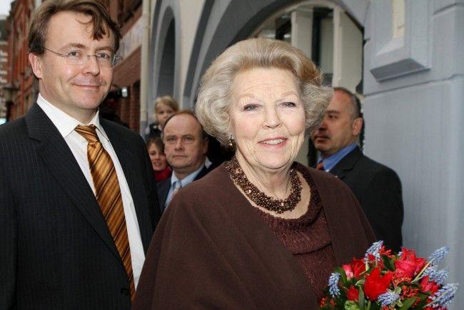 Prinz Friso mit seiner Mutter Beatrix (Archiv 2011)