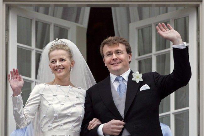 Prinz Friso und Mabel gaben sich 2004 in Delft das Jawort
