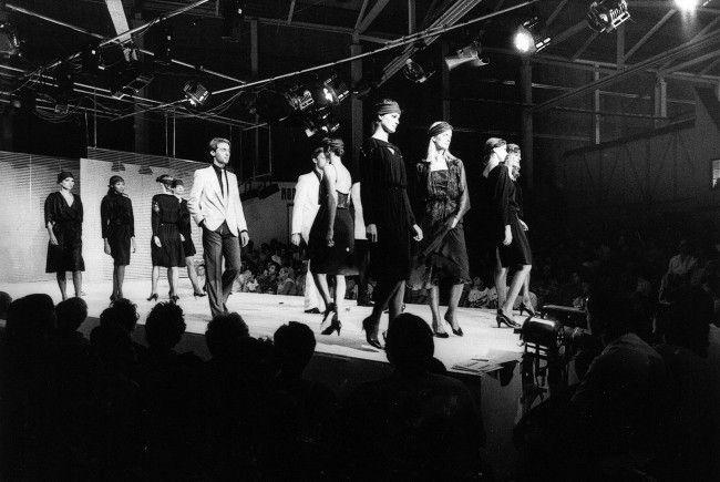 Schon damals ein Publikumsmagnet: Die Modehalle.