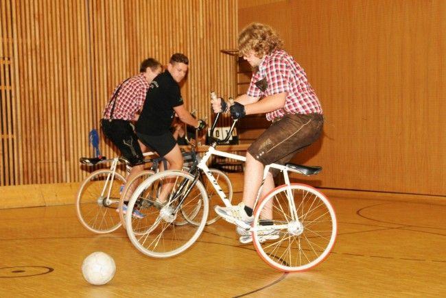 Ein Team war in Krachledernen beim Nichtradballer-Turnier dabei