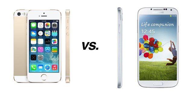 ist iphone 5s besser als samsung galaxy s4