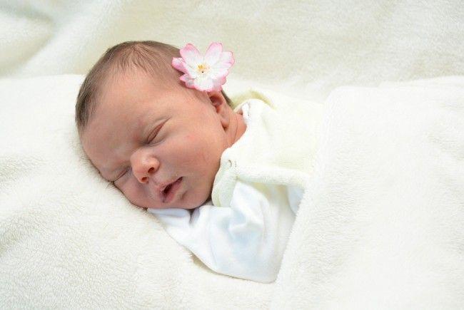 Geburt von Sarah Schneider am 26. Oktober 2013